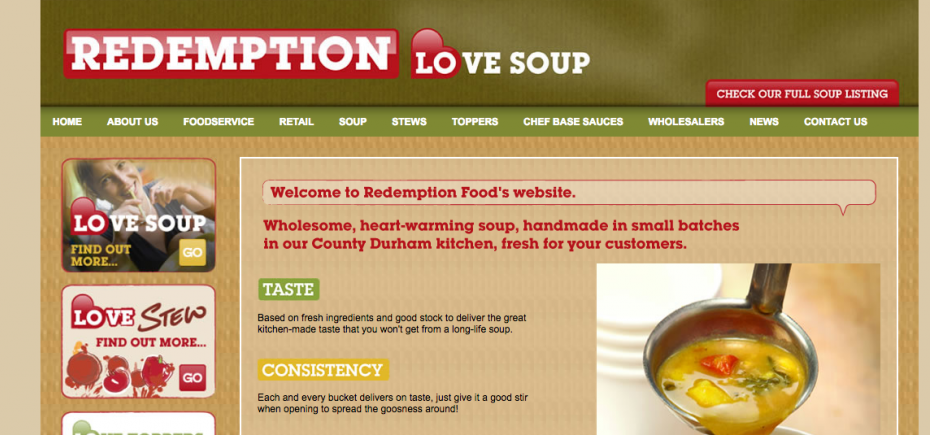 redemption food secure £100,000 growth fund investment from NEL