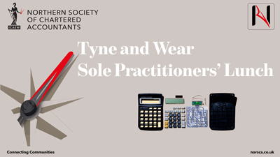 Tyne and Wear Sole Practitioners Lunch – February – Small Loan Fund