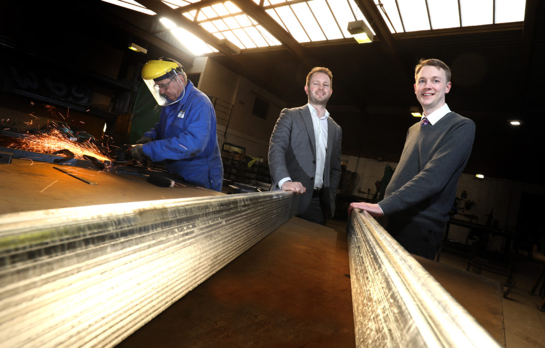 North East Small Loan Fund invests in growth of Durham based Steelcraft Limited