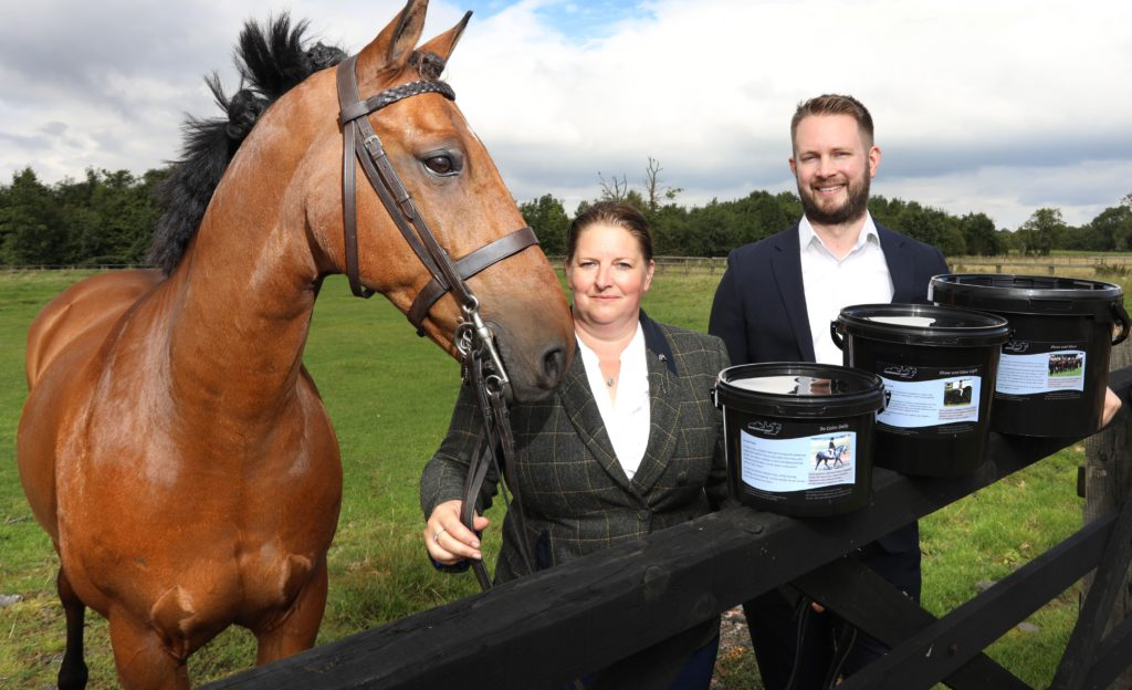 county durham horse supplement firm, Equibalancer received north east small loan fund investment to grow business