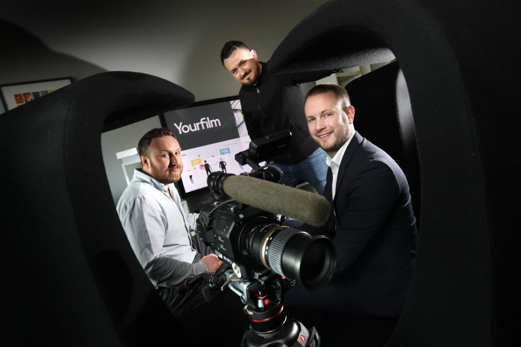 Gateshead based video production company, Your Film, gets Small Loan Fund investment to scale up operations and win new contracts