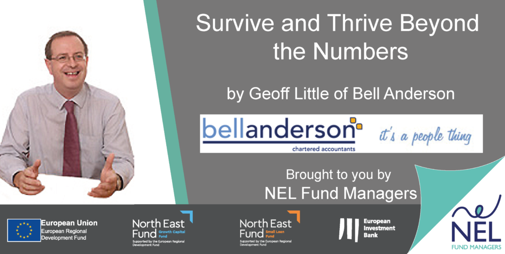 Survive and Thrive Beyond the Numbers webinar with Geoff Little of Bell Anderson Accountants