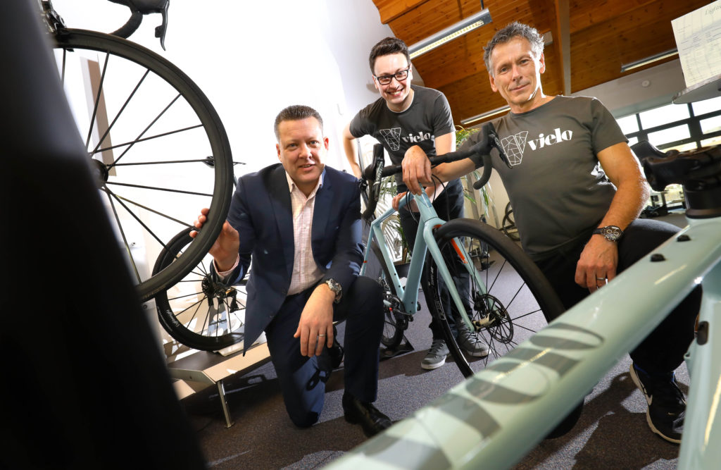 Father and son launching bespoke north east bike brand following north east growth fund loan