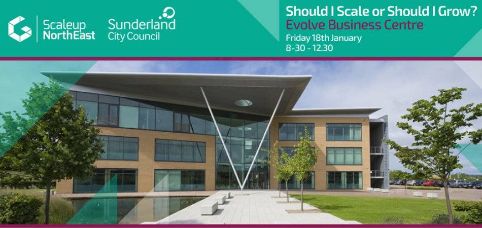 Scaleup North East - 'Should I Scale Or Should I Grow?'