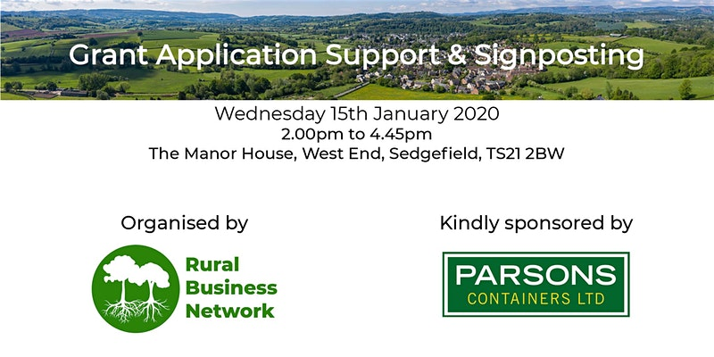 Rural Business Network Grant Application Support & Signposting