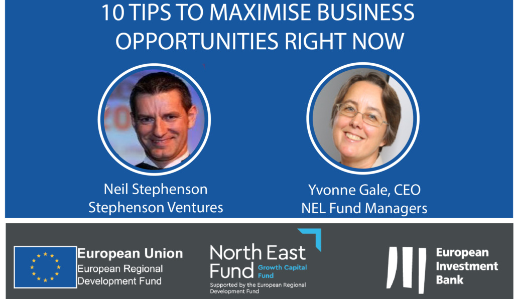 Business Support Webinar - 10 Tips to Maximise Business Opportunities Right Now with Neil Stephenson
