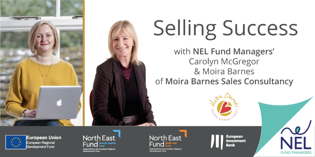 NEL's Selling Success Webinar with Moira Barnes Sales Consultancy