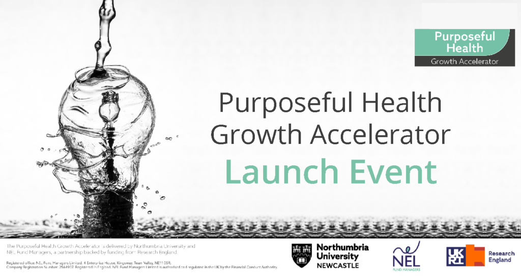 Purposeful Health Growth Accelerator Launch Event