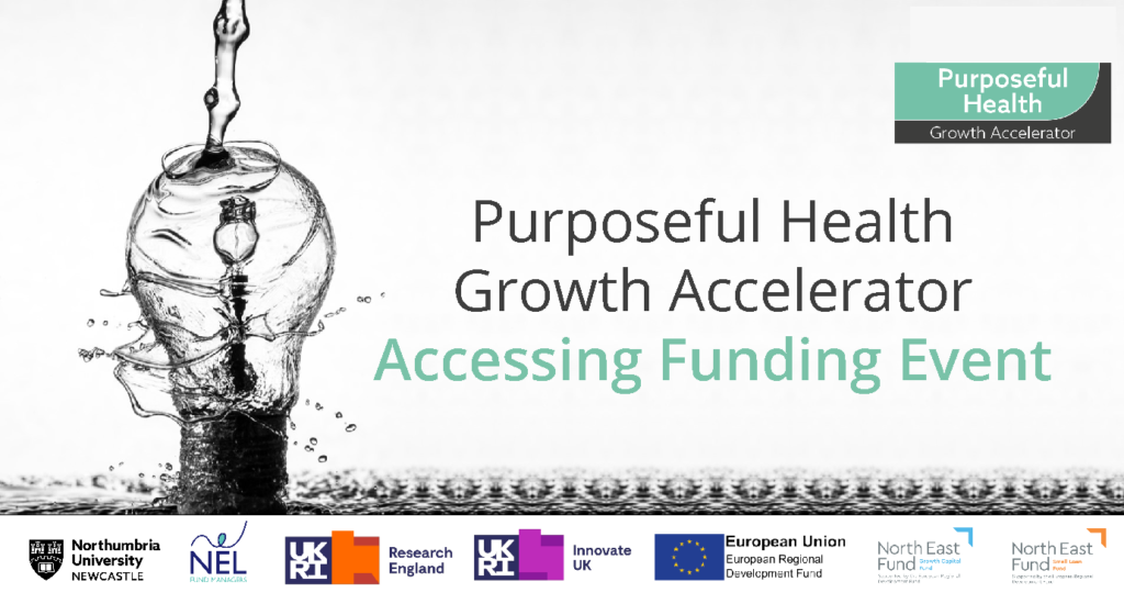 Purposeful Health Growth Accelerator Accessing Funding Event